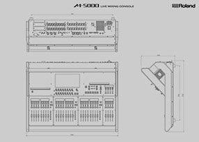 Download the M-5000 Dimensions in DXF