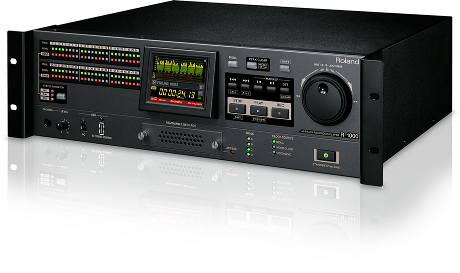 Roland R-1000 48-Channel Recorder/Playback