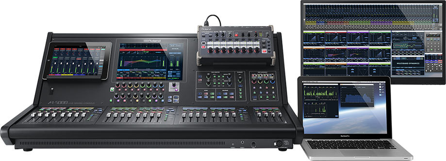 Roland M-5000 Series M-48 Manager