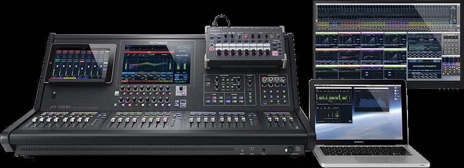 Roland M-5000 Series Remote Control