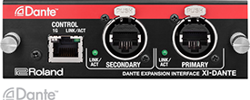 Roland M-5000 Dante Expansion Card
